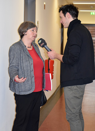 Senatorin Katrin Lompscher im Interview