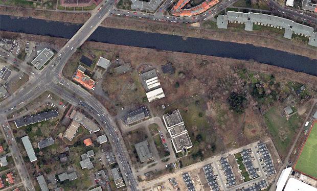 Grundstück Leonorenstraße 17, 33 und 33 A (Luftbild 2016; Geoportal Berlin)