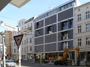 projekt wohn und gesch ftshaus alte sch nhauser stra e 42. Black Bedroom Furniture Sets. Home Design Ideas