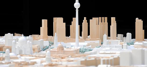 stadtmodelle berlin modell 1 500 land berlin. Black Bedroom Furniture Sets. Home Design Ideas