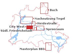 West Berlin Karte.Leitlinien Für Die City West Land Berlin