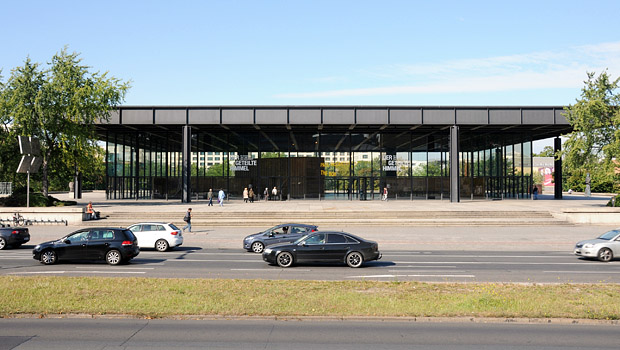 Neue Nationalgalerie, September 2012; Foto: Philipp Eder